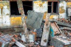 καταστροφές Στοκ Εικόνα
