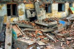 καταστροφές Στοκ Φωτογραφίες
