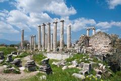 Καταστροφές Afrodisias, Τουρκία Στοκ Φωτογραφίες