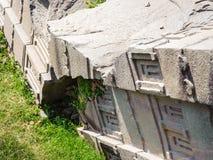 Καταστροφές Aksum (Axum), Αιθιοπία Στοκ Εικόνα