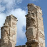 Καταστροφές Ancients σε Cirene Στοκ φωτογραφίες με δικαίωμα ελεύθερης χρήσης