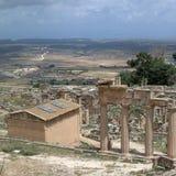 Καταστροφές Ancients σε Cirene Στοκ Εικόνες