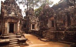Καταστροφές Angkor Wat, μέρος του Khmer ναού σύνθετο, Ασία Siem Ρ Στοκ φωτογραφία με δικαίωμα ελεύθερης χρήσης