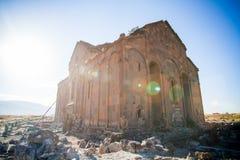 Καταστροφές Ani στην Τουρκία Στοκ Φωτογραφία