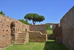 Καταστροφές Antica Ostia Στοκ Φωτογραφία