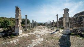 Καταστροφές Aphrodisias στην Τουρκία Βρίσκεται κοντά στο σύγχρονο χωριό Geyre Στοκ φωτογραφίες με δικαίωμα ελεύθερης χρήσης
