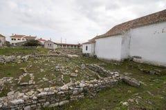 Καταστροφές Archeological Odrinhas Στοκ εικόνα με δικαίωμα ελεύθερης χρήσης