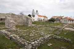Καταστροφές Archeological Odrinhas Στοκ Φωτογραφία