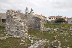 Καταστροφές Archeological Odrinhas Στοκ Εικόνες