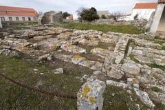 Καταστροφές Archeological Odrinhas Στοκ φωτογραφίες με δικαίωμα ελεύθερης χρήσης