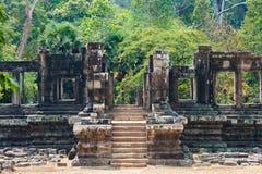 Καταστροφές Bayon σε Angkor, Καμπότζη Στοκ Φωτογραφία