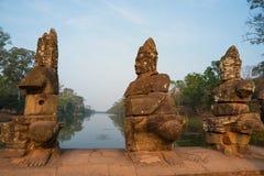 Καταστροφές Bayon, Angkor Wat Στοκ εικόνα με δικαίωμα ελεύθερης χρήσης