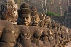 Καταστροφές Bayon, Angkor Wat Στοκ φωτογραφία με δικαίωμα ελεύθερης χρήσης