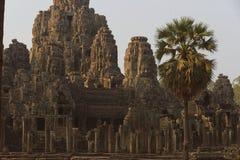 Καταστροφές Bayon, Angkor Wat Στοκ Εικόνες