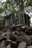 Καταστροφές Beng Mealea, Angkor, Καμπότζη Στοκ φωτογραφίες με δικαίωμα ελεύθερης χρήσης