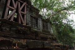 Καταστροφές Beng Mealea, Angkor, Καμπότζη Στοκ εικόνα με δικαίωμα ελεύθερης χρήσης