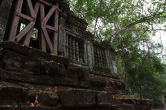 Καταστροφές Beng Mealea, Angkor, Καμπότζη Στοκ εικόνες με δικαίωμα ελεύθερης χρήσης