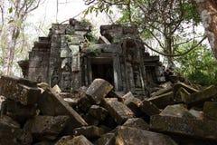 Καταστροφές Beng Mealea, Angkor, Καμπότζη Στοκ Εικόνες