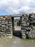 Καταστροφές, Blackhouse, Arnol, νησί του Lewis Στοκ Εικόνα