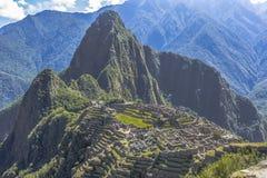 Καταστροφές Cuzco Περού Picchu Machu Στοκ Εικόνα