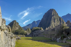 Καταστροφές Cuzco Περού Picchu Machu Στοκ φωτογραφίες με δικαίωμα ελεύθερης χρήσης