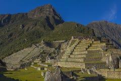 Καταστροφές Cuzco Περού Picchu Machu Στοκ Φωτογραφίες