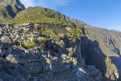 Καταστροφές Cuzco Περού Picchu Machu Στοκ φωτογραφία με δικαίωμα ελεύθερης χρήσης
