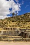 Καταστροφές Cuzco Περού Tambomachay Στοκ φωτογραφία με δικαίωμα ελεύθερης χρήσης
