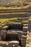 Καταστροφές Cuzco Περού Tipon Στοκ φωτογραφία με δικαίωμα ελεύθερης χρήσης