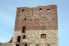 καταστροφές hammershus στοκ φωτογραφία με δικαίωμα ελεύθερης χρήσης