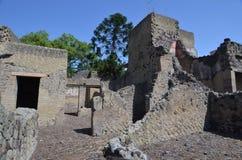 Καταστροφές Herculaneum Στοκ Φωτογραφίες