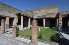 Καταστροφές Herculaneum Στοκ Εικόνες