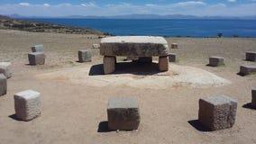 Καταστροφές Incas Στοκ Εικόνες