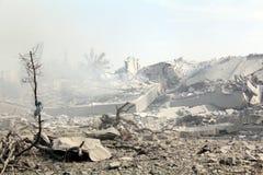 Καταστροφές khadra Abu Στοκ Εικόνες