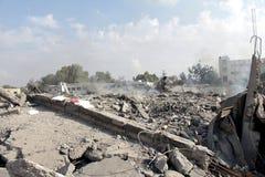 Καταστροφές khadra Abu Στοκ φωτογραφία με δικαίωμα ελεύθερης χρήσης