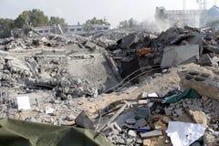 Καταστροφές khadra Abu Στοκ φωτογραφίες με δικαίωμα ελεύθερης χρήσης
