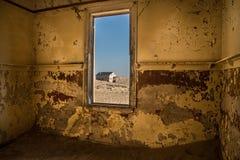 Καταστροφές Kolmanskuppe Στοκ φωτογραφία με δικαίωμα ελεύθερης χρήσης