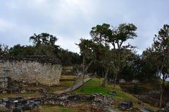 Καταστροφές Kuelap, η χαμένη πόλη Chachapoyas, Περού Στοκ εικόνες με δικαίωμα ελεύθερης χρήσης