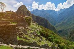 Καταστροφές Machu Picchu Inca Στοκ Εικόνες