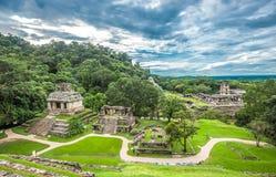 Καταστροφές Palenque, Chiapas, Μεξικό στοκ εικόνα
