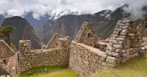 Καταστροφές Picchu Inca Machu στο σύννεφο Στοκ φωτογραφίες με δικαίωμα ελεύθερης χρήσης