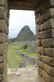 Καταστροφές Picchu Machu στο Περού Περιοχή παγκόσμιων κληρονομιών της ΟΥΝΕΣΚΟ από το 1983 Στοκ φωτογραφίες με δικαίωμα ελεύθερης χρήσης