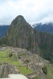 Καταστροφές Picchu Machu στο Περού Περιοχή παγκόσμιων κληρονομιών της ΟΥΝΕΣΚΟ από το 1983 Στοκ Φωτογραφίες