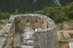 Καταστροφές Picchu Machu στο Περού Στοκ Φωτογραφία