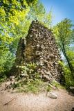 Καταστροφές Radosno Castle Στοκ φωτογραφία με δικαίωμα ελεύθερης χρήσης