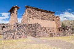 Καταστροφές Raqch'i, Raqchi ή του ναού Wiracocha κοντά σε Cusco, Περού Στοκ φωτογραφίες με δικαίωμα ελεύθερης χρήσης