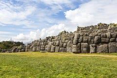Καταστροφές Saksaywaman, Cusco, Περού Στοκ Εικόνες
