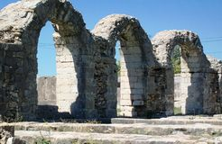Καταστροφές Salona - ρωμαϊκή αρχαία πόλη Στοκ φωτογραφία με δικαίωμα ελεύθερης χρήσης