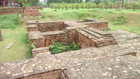 Καταστροφές Sarnath Στοκ φωτογραφία με δικαίωμα ελεύθερης χρήσης