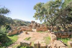 Καταστροφές TipasaTipaza Η antic πόλη ήταν ένα colonia στη ρωμαϊκή επαρχία Μαυριτανία Caesariensis locat Στοκ φωτογραφία με δικαίωμα ελεύθερης χρήσης